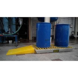 Ercon Spill Pallet With Ramp
