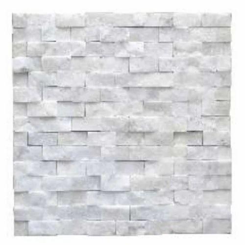 Capstona White Brick Wall Cladding, Thickness: 5-10mm