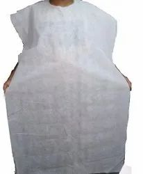 Non Woven Disposable Salon Apron