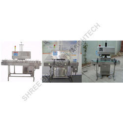 Induction Cap Sealing Machine For Nutraceuticals Bottle