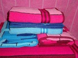Multi Colour Bath Towel