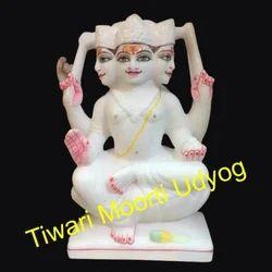 Brahma Marble Statue