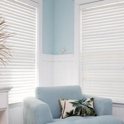 Glemtech White Basswood Painted Venetian Blind, For Home, Office