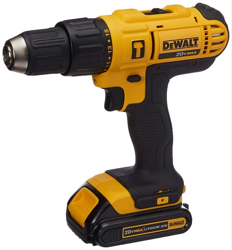 18 V 1.5-13mm Cordless Drilling Machine, Model Number/name: Dewalt