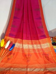 Handloom Temple Work Sarees