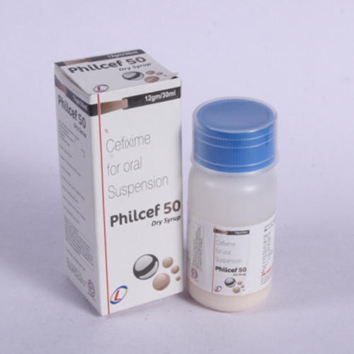 Philcef Allopathic Cefixime 50 mg in Pan India, Minimum Order Value: 30000