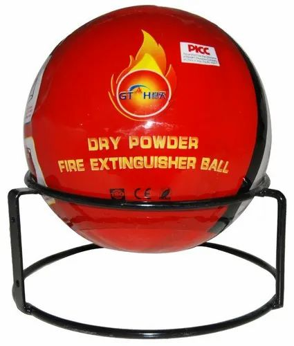 A B C Dry Powder Type Fire Extinguisher Ball, Capacity: 1.3kg