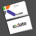 Paper Offset Business Visiting Card