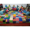 Quilted Patch Work Designer Double Bed Sheet
