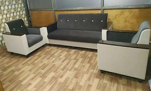 Custom Sofa - Fix Accord Wooden Handle Sofa Set Manufacturer From Pune