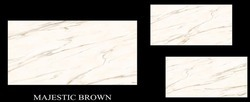 Majestic Brown Polished Glazed Vitrified Tile