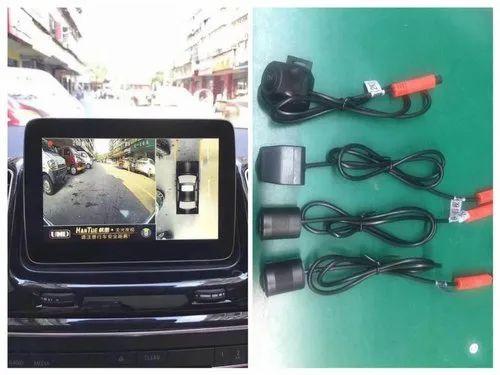 Digital Vp1 Car 360 Bird View Camera System Dvr Plug And Play 12v