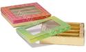 HCPL红色和绿色印花甜盒,用于赠送,包装类型:20个捆绑