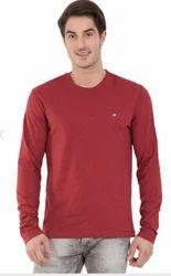 Jockey Red Melange Long Sleeved T-Shirt