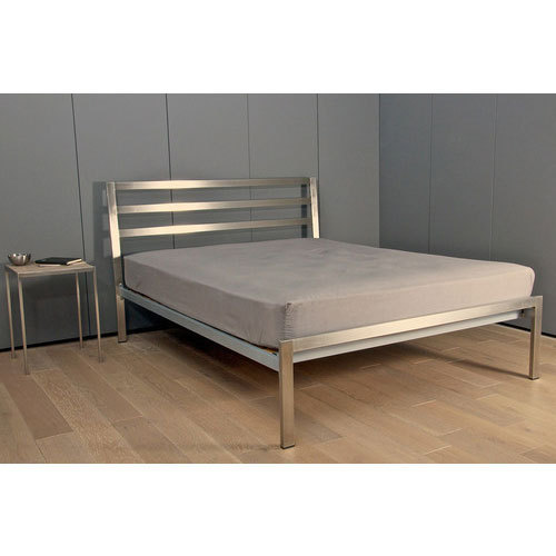 Designer stainless steel single bed at rs 12000 unit - Stainless steel bedroom furniture ...