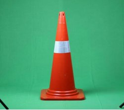 750 mm Plastic Traffic Cone 1.2 kg