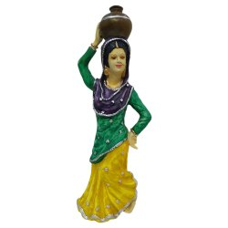 Polyresin Lady Statue