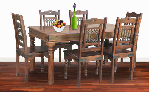Furniselan Six Chair Dining Table Set