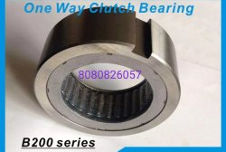 B207 Sprag Type Free Wheel Clutches