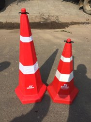 750mm Hexagonal Traffic Cone