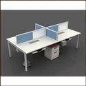 Trends Wooden Modular Office Workstation Cubicle Open Desking Partition