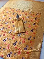 Pure Silk Saree, Age Group: 18 To 40