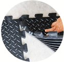 Gym Tiles/Gym Floor Mat (Interlocking) Mini Deck Plate