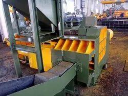 RHTHPB 800 Fully Auto Tie Horizontal Paper Baling Machine