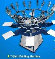 Screen T Shirt Printing Machine