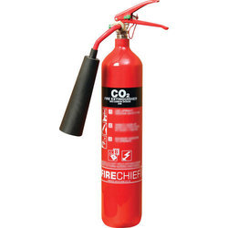 Mild Steel CO2 Type Fire Extinguisher