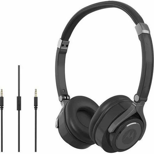 4569231ddae Black Motorola Pulse 2 Headphone, Rs 810 /piece, Vsm India ...