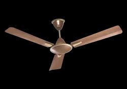 Blossom Ceiling Fan Brown Metallic