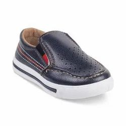 Kids Blue Loafer Shoes