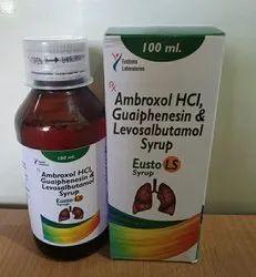 Ambroxol 30 Mg Guaiphenesin 50 Mg Levosulbutamol 1 Mg, Packaging Size: 100ml