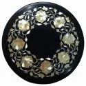 Table Marble Inlay Coffee Table Top