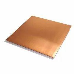 Copper sheet, For Maching, Packaging Size: 30 SHEETS