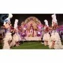 Grand Groom Fiber Wedding Stage