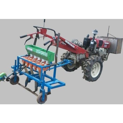 Kisan Kraft Stainless Steel Agricultural Seed Drill, for Agriculture