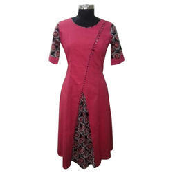 Round Neck Double Layered Kurti