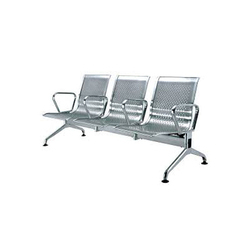 Stainless Steel Waiting Area Chairs