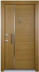 Finished Teak Wood,Solid Wood Wooden Flush Door, For Home