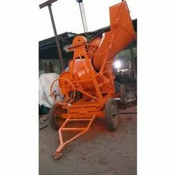 Automatic Concrete Mixer with Hopper