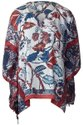 Women Surplus Printed Poncho