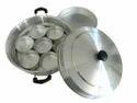Silver Aluminium Multi Kadai, For Idli & Dhokla Maker
