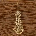 White Copper Brass Indo Western Gold Plated Chand Tikka 100200