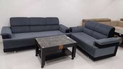 SSF Blue & Black 3 2 Seating Designed Sofa for Home, Model Name/Number: SSF-SOFA-3+2BB