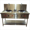 3 Burner Chinese Range