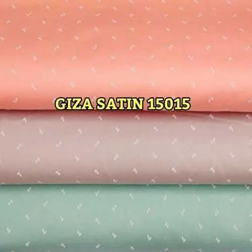 Giza 15015 Printed Satin Fabric, For Garments, 100-150, Rs 104 /meter | ID:  22453574988