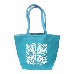 Sky Blue Srishti Printed Lunch Bag