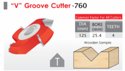 V Groove Cutter 760